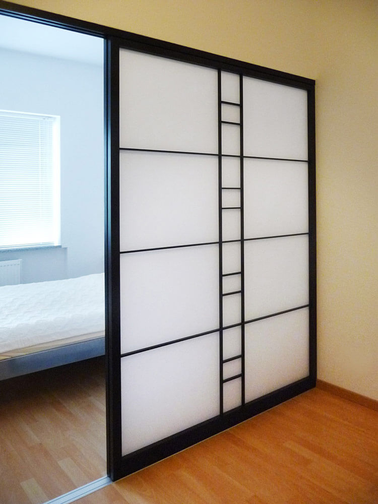 japanischer schrank perfect con ante scorrevoli shoji giapponesi in carta di riso misure e. Black Bedroom Furniture Sets. Home Design Ideas