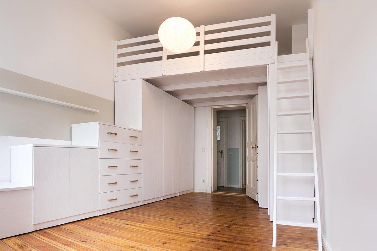 Etagenbett Eingebaut : Möbel schränke regale der tischlerei hardys hochbetten gmbh